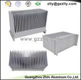 De Gootsteen van /Heat van de Uitdrijving van de Kam van het aluminium