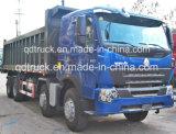 低価格アフリカのための使用されたHOWOのダンプトラック12の車輪371HP 40tonsの優秀な状態の使用
