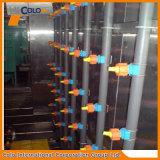 Ligne d'enduit automatique de poudre de traitement préparatoire de jet pièces d'ascenseur