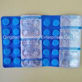Tablettes de paracétamol diplôméees par GMP, paracétamol antipyrétique de paracétamol d'analgésiques