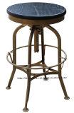 Sgabelli di barra d'acciaio di Toledo dell'annata del Turner della mobilia industriale del metallo