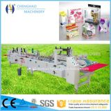 2016 Chenghao Brand Wine Paper Box Mini Carton Carpeta automática e Gluer Machine See-Through Plastic Tube