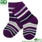 가장 새로운 뜨개질을 한 면 아이들 양말