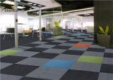 商業床のカーペットの正方形の敷物機械房状になっているナイロン6 - 6モジュラーカーペットのタイル
