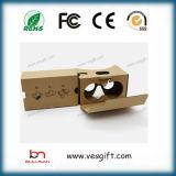 Glas-Brillen des Vr Kopfhörer Vr Glas-Riss-3D