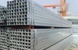 Tubo de acero cuadrado galvanizado sumergido caliente de ERW ASTM A36