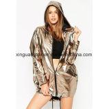 Tela hecha punto poliester para el impermeable/la ropa/el paraguas/los zapatos/los bolsos