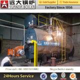 0.3-20ton / H Calentador de vapor de combustible de gas natural y diesel o gas natural y aceite pesado