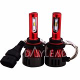 New Design Red Housing Importado Chips de alta potência 48W 9005 Mini LED Head Lamp 6000k
