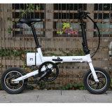12 pouces pliable vélo électrique / alliage d'aluminium cadre / batterie au lithium vélo / une deuxième bicyclette pliante
