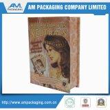 Envases de papel Caja Libro Clamshell Eyeshadow Palette envases cosméticos Wholesale