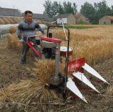 小さいムギの収穫者つなぎの収穫機
