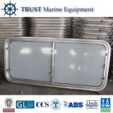 Lieferungs-Marinerechteckiges Stahlfenster für Boot