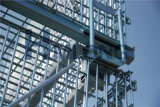 De vouwbare Kooi van het Netwerk van de Draad van de Opslag van het Pakhuis van het Metaal