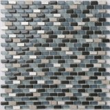 Hot vente de Crystal Mosaic Tile en Stock (AJ2A-1002)