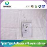 Embalaje PVC con la cuerda de papel de impresión etiqueta colgante
