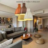Lamp van de Tegenhanger van de Kroonluchter van de decoratie de Lichte met Houten Kleur voor Slaapkamer