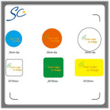 Etiquetas engomadas de Ntag213/S50/F08 NFC con talla modificada para requisitos particulares