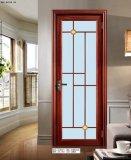 Glace Tempered de double chaud de vendeur de Woodwin avec la porte en aluminium de tissu pour rideaux de configuration