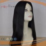Hermoso toda la peluca del pelo de la relación de transformación del grado de la tapa del pelo de Remy de la Virgen