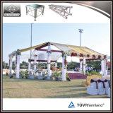 Armature carrée en aluminium de décoration de mariage d'armature de tube