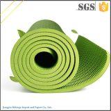 Couvre-tapis duel de yoga de bande de couche de couvre-tapis de yoga de polyuréthane organique