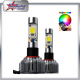 Multi faro di colore del LED con controllo 36W di Bluetooth per l'automobile