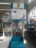 Malta máquina de embolsado con el transportador y la máquina de sellado térmico
