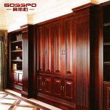 Decoração clássica de painéis de revestimento de parede de madeira (GSP9-073)