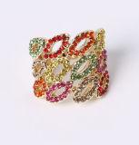 De Ring van de Juwelen van drie Manier plaatst Fabriek de Directe Levering voor doorverkoop van de Prijs