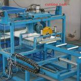 機械を形作るサンドイッチパネルロール