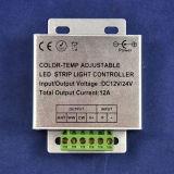 Regolatore di temperatura di colore del regolatore della luminosità del LED il TDC registrabile