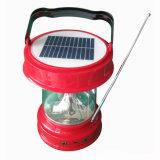 Портативный солнечный свет фонарика СИД перезаряжаемые ся с Multifunctions
