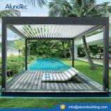 Wasserdichtes Aluminiumluftschlitz-Dachpergola-System für Garten