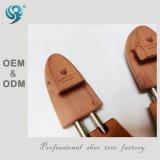 Esticador de madeira flexível elástico da sapata das mulheres, promoção da árvore da sapata