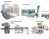 逆浸透の飲料水の処置システムとの自動500ml 1500mlのびん純粋な水洗浄の満ちるキャッピング機械ラインを作る