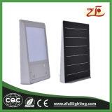 6watt IP65 impermeabilizan la luz solar ligera de la luz LED del jardín de la pared
