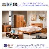 [إيكا] ملكة حجم سرير بسيطة بيتيّة غرفة نوم أثاث لازم ([ش-013])