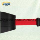 Для установки на стену из пластмассового материала складной ремень барьер