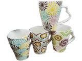 Tazza di ceramica certificata di vendita calda internazionale per il regalo di promozione