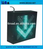 Indicatore luminoso rosso/verde del segnale stradale del LED, indicatore luminoso d'avvertimento di sicurezza stradale