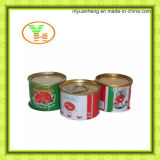 Pasta de tomate enlatada Conservas de vegetais