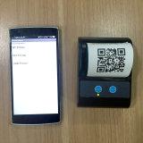 58mm Impresora térmica portátil Bluetooth para restaurante recepción Imprimir