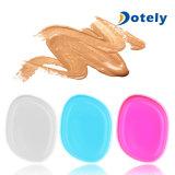 Polvo del soplo de la esponja del maquillaje del silicón para la fundación