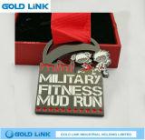 Médaillon courant de récompense de module de finition en métal de métiers de médaille faite sur commande de marathon