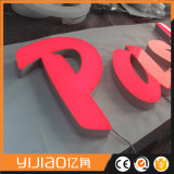 Lettrage en acrylique Luminous Front Lit Face Sign for Retail Shop