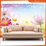 Het hete Verkoop Aangepaste 3D Olieverfschilderij van het Ontwerp van de Bloem voor Huis Decoratio (modelleer Nr.: Hx-5-070)
