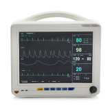 Moniteur de patient multiparamètre de 12 pouces ECG, NIBP, SpO2, Temp, Resp, Pr Imprimante optionnelle Rpm-9000A HU ICU Ccu-Candice