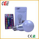 Ampoule légère sèche d'éclairage LED de la musique DEL Bluetooth de lampe d'E27 RVB