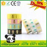 Populärste reizende Entwurfs-kundenspezifische Drucken-verschiedene Farben-Ananas sortiertes Muster wasserdichtes Washi Band für die Kinder Crafty
